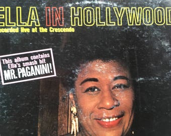 Ella Fitzgerald - Ella In Hollywood - vinyl record
