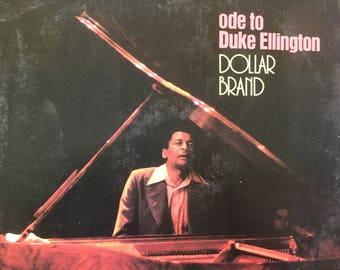 Ode To Duke Ellington - Dollar Brand - vinyl record