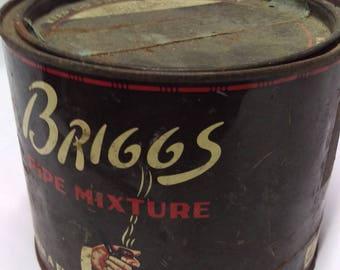 Briggs Tobacco Tin