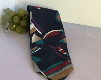 V291 Ketch polyester tie