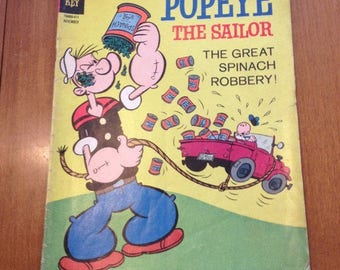 Popeye The Sailor Comic Book / Number 74 / Novermber 1964 / Gold Key