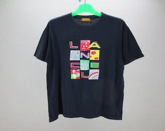 Lancel Shirt Vintage Lancel Paris T Shirt