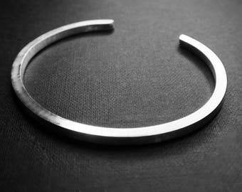 Unisex Silver cuff