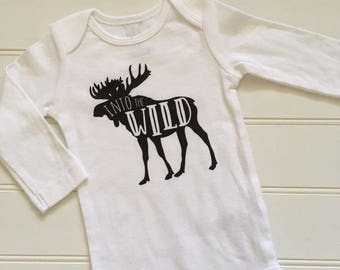 INTO the WILD-Baby and Toddler Tees or ONEsies ONLY