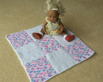 Pretty blanket for baby Sasha by Granny Peggy