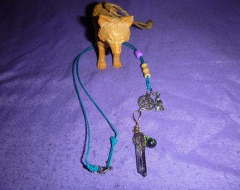 Totem wolf spirit necklace