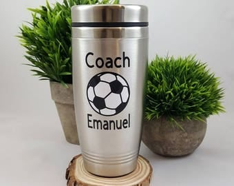 Gift for Soccer Coach - Soccer Coach Gift - Soccer Gifts - Coach mug - Soccer Team Gift - Personalized Coach Gift, Soccer gift for Coach