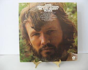 Debut Album - Kris Kristofferson - Me And Bobby McGee - Circa 1970