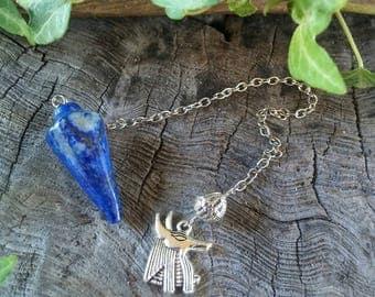 Dumortierite Dowsing Pendulum, Pendulum Dowsing, Crystal Pendulum, Divination, Pendulum Divination