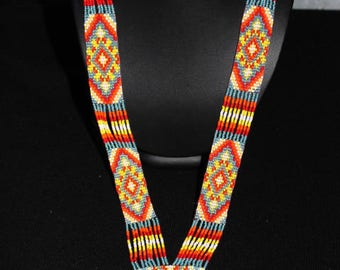 handmade ethnic Indian motif necklace