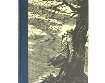 """1943 Edition of """"Wuthering Heights"""" by Emily Brontë with Fritz Eichenberg Engravings"""