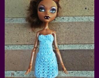 Handmade dress for MH dolls