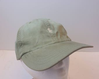 Polo Ralph Lauren 90s hat cap low profile STAINED