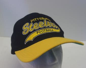 90s Pittsburgh Steelers Snapback hat cap PA Starter NFL team