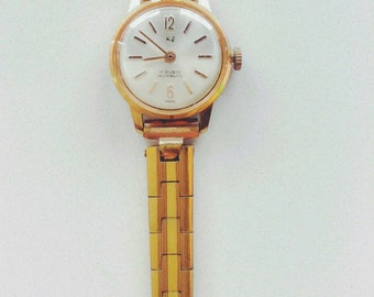 Vintage 40 Gold Plated Watch