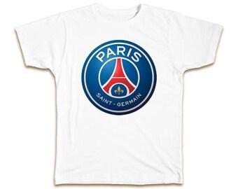 Paris SG 5 Years Futbol Football Soccer T- SHIRT Paris Saint-German FootBall Club