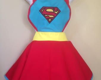 Superman Supergirl child DC inspire Apron