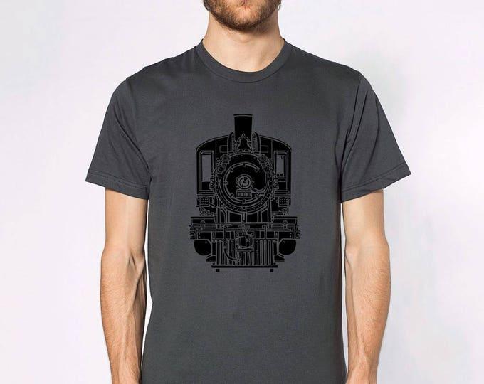 KillerBeeMoto: Train Locomotive Front View Short Or Long Sleeve Shirt