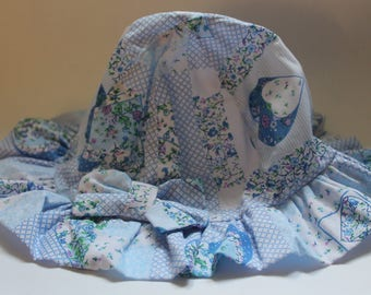 Girls summer hat aged 13-17lbs