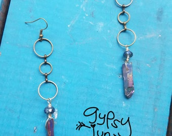 Titanium Crystal Earrings
