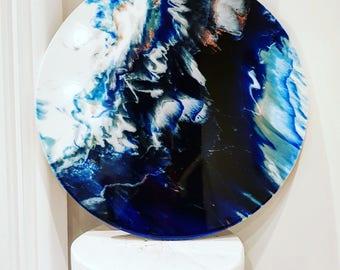 Abstract art, Resin art, Original art,  Wall art, Art, Resin, Fluid art, Modern art