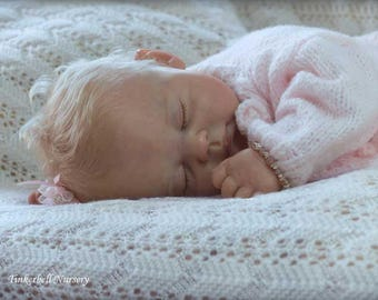 Josie ping lau custom made for you reborn baby lifelike silicone feel doll