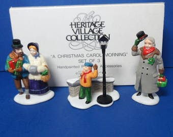 Dept 56 A Christmas Carol Morning Retired DV Accessories