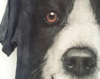 Vintage dog tshirt