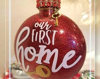 Our First Home Ornament/Our 1st Home Ornaments/ Home Ornament.