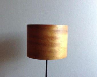 Millinery Hat Block, Wood Hat Form, Mini Top Hat/Pillbox, Recycled Wood Bowl Hat Block