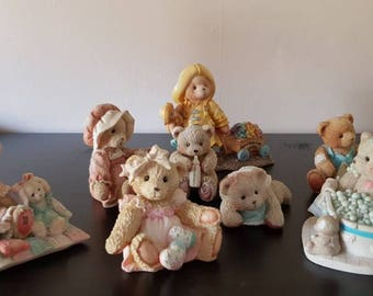 Hamilton cherished Teddies figurines  collection