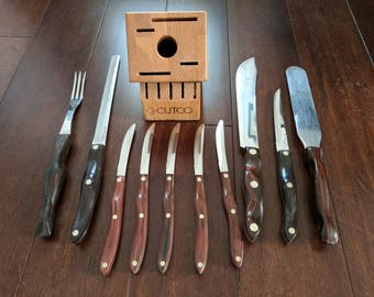 Cutco Set Of Kitchen Knives
