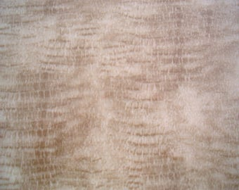 Iron on flock sheet crocodile print