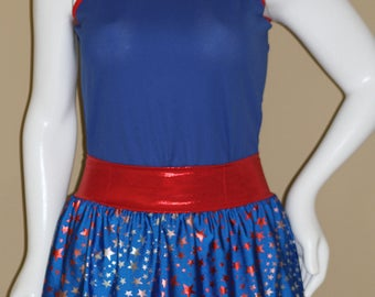 Large Patriotic Running Set--Blue--Ready To Ship NOW