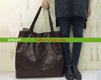 Oversized tote bag | Etsy