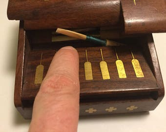 10 - 12 oboe reed case display dispenser for your music room