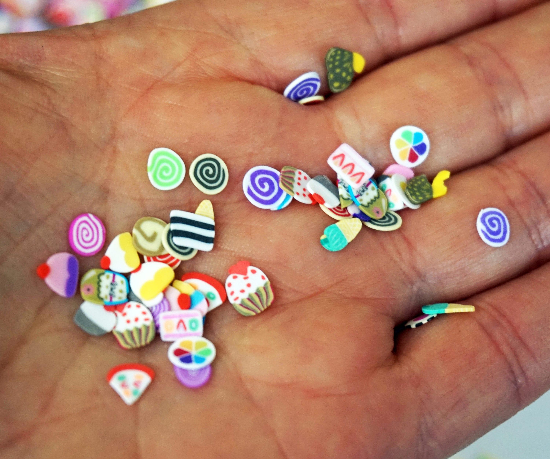 1000 pieces 3d cupcakes fimo slice polymer clay nail art decor 399 shipping prinsesfo Choice Image