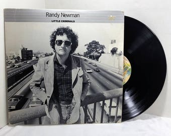 Randy Newman Little Criminals vinyl record 1977 Rock N Roll VG+/EX