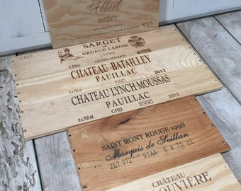 French Wine Crate Panel