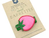Strawberry Hair Clip Barrette