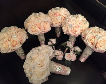Flower bridal package