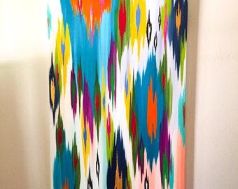 "Original abstract painting by Rita Ortloff 30""x48""x2"" - ""Mesa"""