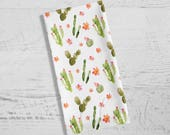 Cactus Towel | Cactus Dish Towel | Kitchen Towel | Watercolor Cactus | Cactus Tea Towel | Tea Towel | Dish Towel | Dishcloth