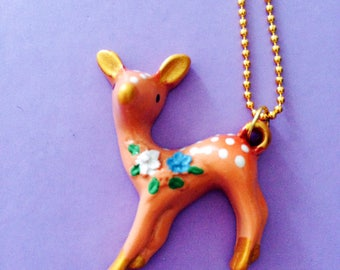 For you My Dear Necklace Bambi
