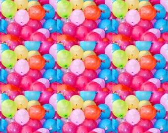 Water Balloon Tank Pre-order - balloon - Balloons  - organic cotton - organic fabric - organic - cotton candy twirls