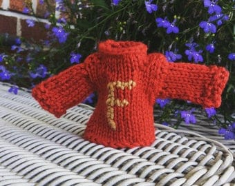 Miniature Weasley Sweater Ornament