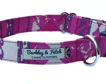 African Print Dog Collar