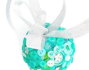 Green flower girl gift, bridesmaid gift, gift for sister, gift for daughter, gift for her, thank you gift, wedding keepsake, Christmas gift