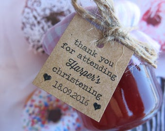 Christening, Baptism and Baby Shower Favours - Mini Jam and Honey
