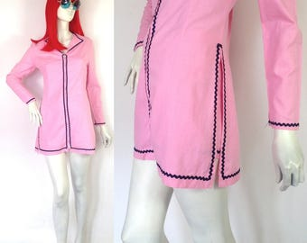 1960s vintage MOD GO Go tunic & Hot pants set // Psych / 70s Disco / Bernshaw London / Goldie Hawn